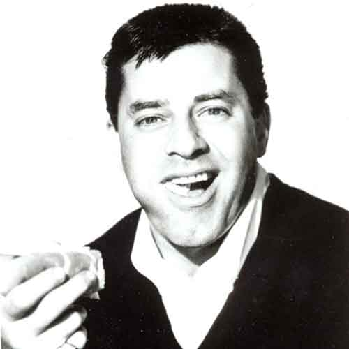 Jerry Lewis - Lewis, enjoying hot dogs in the 1950s.