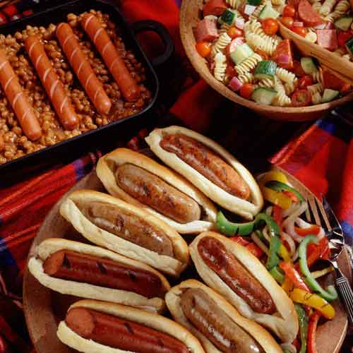 Hot Dogs for Dinner image