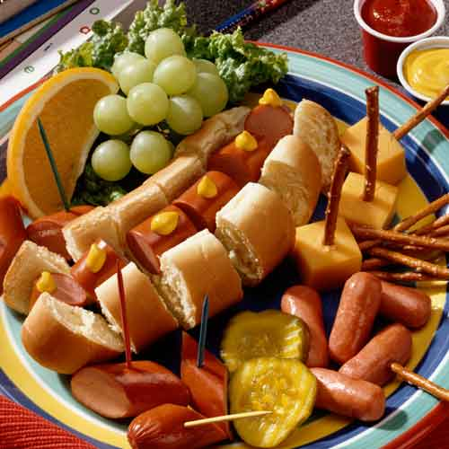Hot Dog Healthy Snacks image