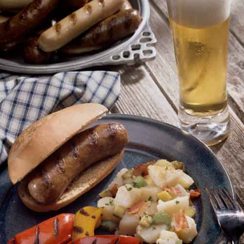 Autumn Beer and Sausage image
